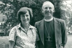 Rt Rev Peter Nott and his wife Betty