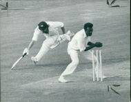 Clive Lloyd with richard.