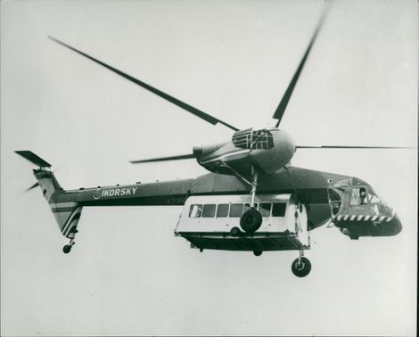 COPTER CARRIES POD