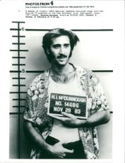 Actor Nicolas Cage in 'Raising Arizona'