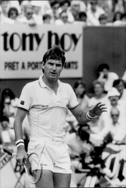Jimmy Connors in Roland Garros French open