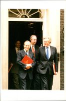 Michael Heseltine with Cabinet Members.