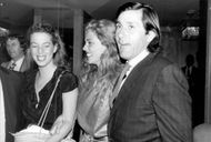 Tennis player Ilie Nastase attends Jimmy Connor's 30th birthday at Hotel Meridien