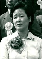 Mrs Sun Myung Moon.