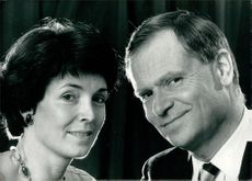 Jeffrey Howard Archer and Mary Archer