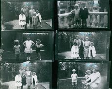 All pictures been taken in St Coud near Paris in Prince Philip's home in 1924 except No. 8413 which was taken in Berck Plage in 1925. 8410 Helen Foufoni, Princess Sophie, and Cecil, Prince Philip and Jean Foufoni.8411. Prince Philip and Helen and Jean Fou