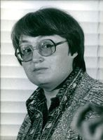 Close up of Soviet Dissidents Mrs. Taniya Pllyusch