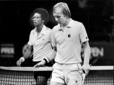 Tenny Svensson after the loss against Arthur Ashe