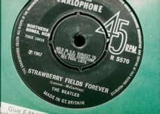 Strawberry Fields Forever cd by The Beatles.
