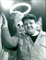 Actor Robbie Coltrane