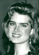 Actress Brooke Shields