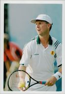 Rikard Bergh during the US Open 1996