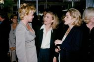 Actresses Melanie Griffith, Michelle Pfeiffer and Sharon Stone at Women in Hollywood Awards at Four Seasons Palace Hotel
