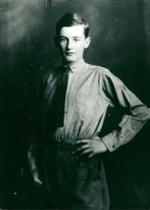 Portrait image of Raoul Wallenberg taken in an unknown context 1924.