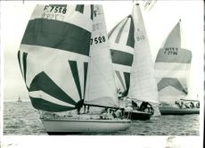 The Start of the Channel race at Cowes.