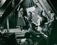 MUSICAL SECTION WITH STAGE PERFORM