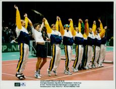 Sweden's classic wave after the final place in the Davis Cup is ready