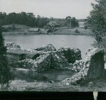 Ruins at Ornö. Sundby Excavations