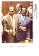 The Trial of OJ Simpson at the court.