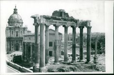 Italy: Rome Forum Ruins