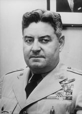 Portrait of Curtis E. LeMay.