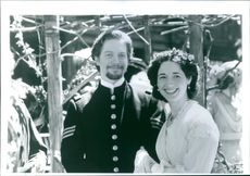 Still of Eric Stoltz and Trini Alvarado from the film Little Women.