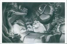 """An animated scene from """"Once Upon a Forest""""."""
