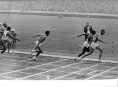 Track and Field competition, 1964.