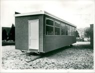 mobile classrooms at Gaywood Park Schools, King's Lynn