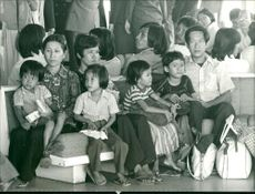 Vietnam refugees after the war