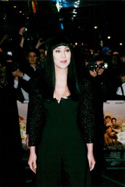 Cher premiere of the movie Tea with Mussolini