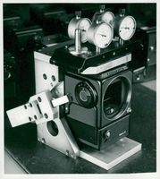 One of director and camera designer Victor Hasselblad's many cameras.