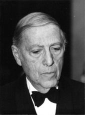 Portrait of Herman Wouk.