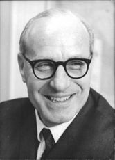 James Boyden smiling a British Labour Party politician who was Parliamentary Under-Secretary of State for the Army and also served as Minister of Defence in 1967