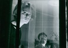 "Jennie Linden in a scene from a 1964 horror/suspense film, ""Nightmare."""