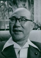 Japanese politician, Gizo Tomabechi.