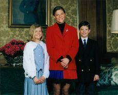 Princess Madeleine, Crown Princess Victoria and Prince Carl Philip.