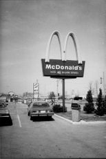 A McDonald's sign in Canada