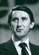 Portrait of David Steel M.P. 1977.