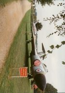 A Javelin at Flixton Aviation Museum.
