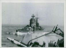 FLEET BEAT OFF TWO-DAY ATTACK ON CONVOY.
