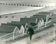 Southwold Town in England.