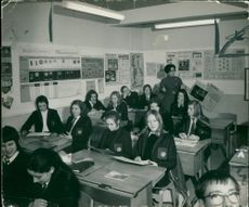 Schools 1970-1979:The cildren in miss pallicaros class.