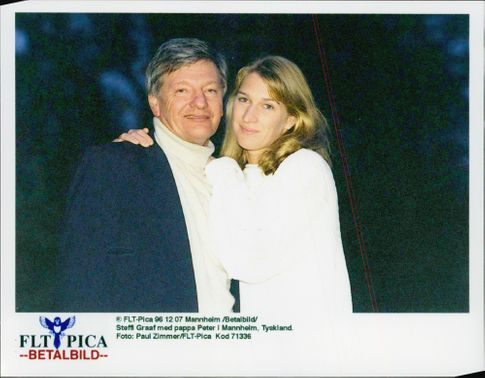 Steffi Graph with Dad Peter