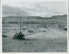 General view N.E Gate GTMO Cuba.