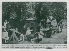 Photography from a book of Frederiksberg in Copenhagen