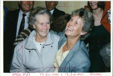 Lynn Siddon and Gail Halford and grand mother florence.