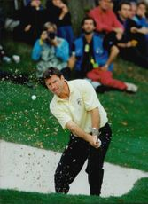 Golf player Nick Faldo during the Ryder Cup 1993
