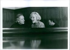 """A scene from the movie """"Meeting Venus"""", with Niels Arestrup as Zoltan Szanto and Glenn Close as Karin Anderson, 1991."""
