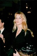 Claudia Schiffer returns to Hotel Ritz after a fashion show for Chanel